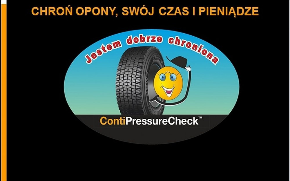 The tire pressure and temperature are always under control